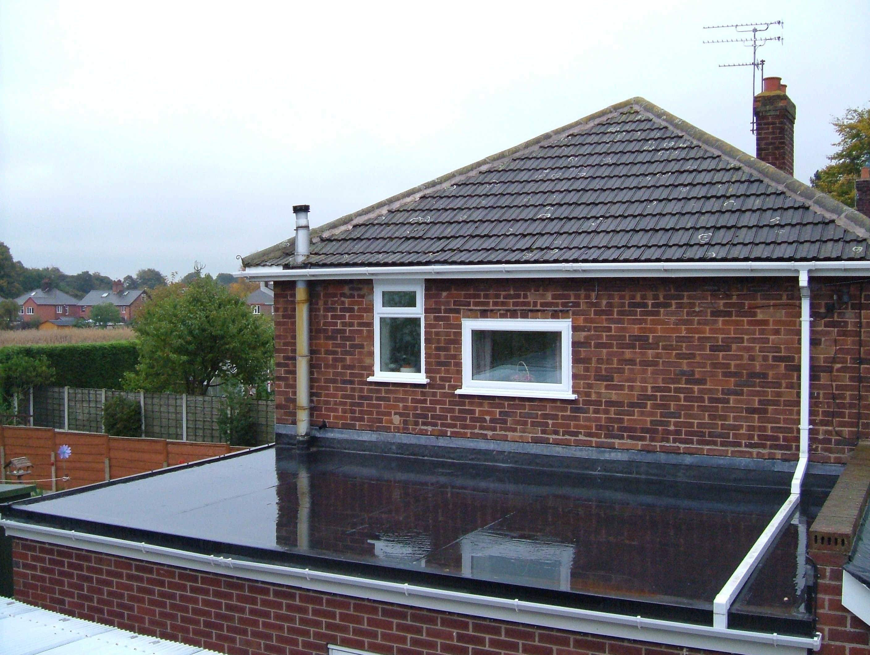 Home Commercial Grade Flat Roof Rubber Roofing Systems